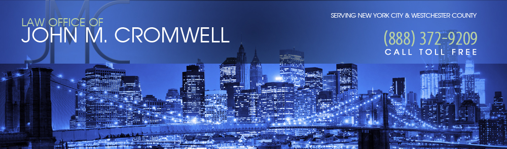 White Plains Criminal Defense Lawyer - Attorney John M. Cromwell